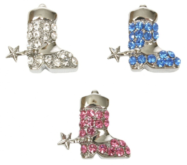 10mm cowboy boot charms