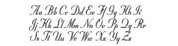 Stuyvesant Script font