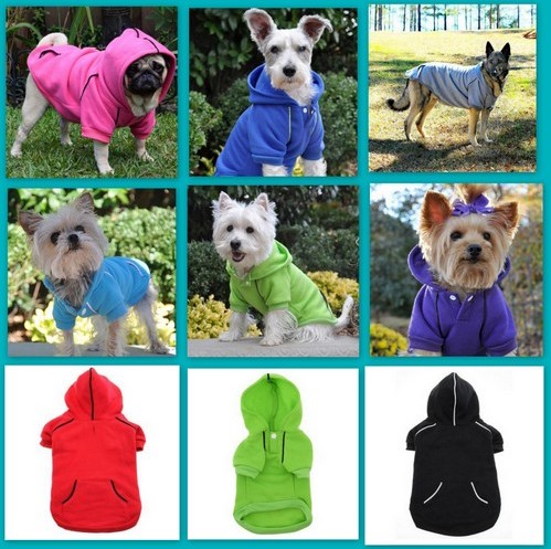 New Personalized Dog Sport Hoodies - Sizes XS - 3XL, Dogs up to 90 lbs