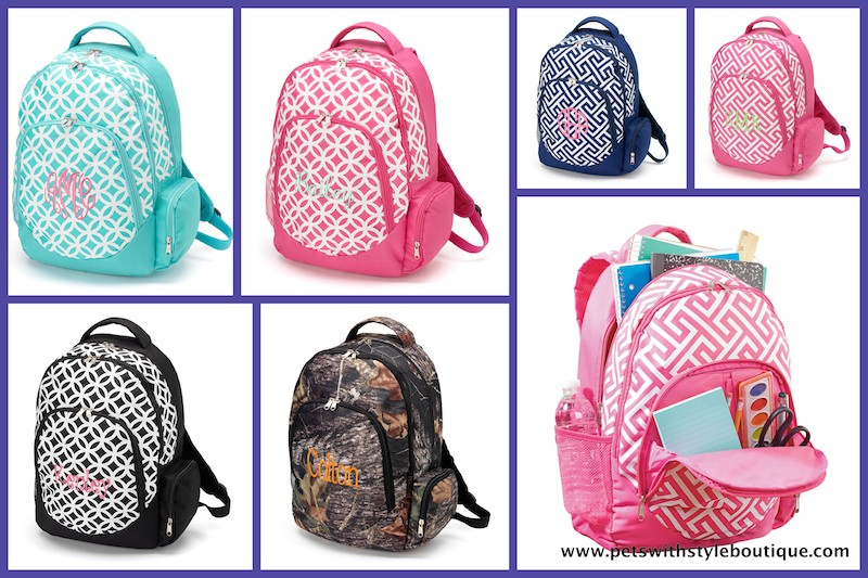 Backpacks Personalized School Age S College Greek Book