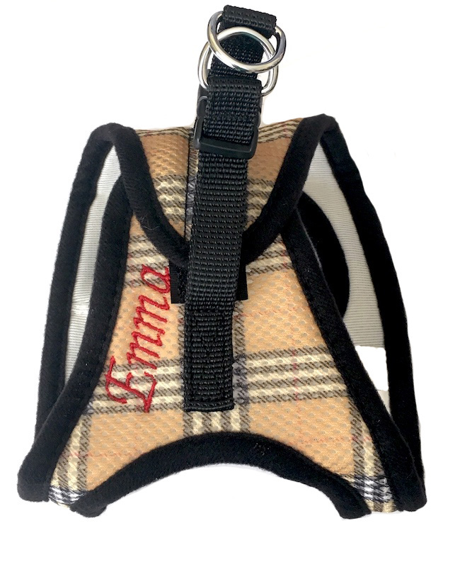 Step in Dog Harness EZ Wrap Personalized with your Pet's Name XXS - XXL