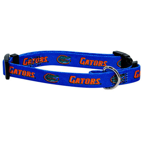 NCAA Florida Gators Dog Collar Officially Licensed