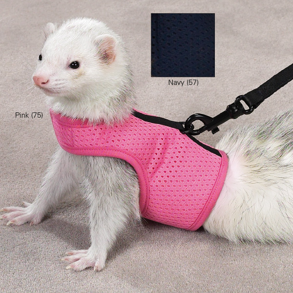 Personalized Ferret Harness with leash-Plain or Custom embroidered with name