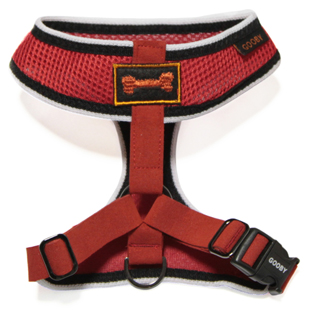 Personalized Gooby Sports Freedom Harness - with Custom Embroidered Name