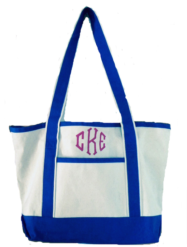 Best Seller Monogrammed Tote Bags - Monogrammed or Name, Teachers, Grads, Moms, Bridesmaids, Large or Small, More Colors