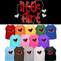 Best Seller Custom Dog Shirt - Little Flirt Screen print XS - 3XL