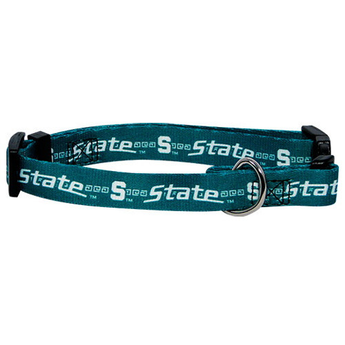 NCAA Michigan State Dog Collar Officially Licensed