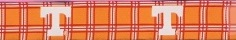 NCAA University of Tennessee Plaid Dog Collar/Leash, NCAA Officially Licensed
