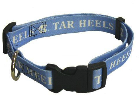 NCAA North Carolina NC Tarheels Dog Collar Officially Licensed