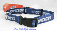 NFL Dallas Cowboys Dog Collar Officially Licensed
