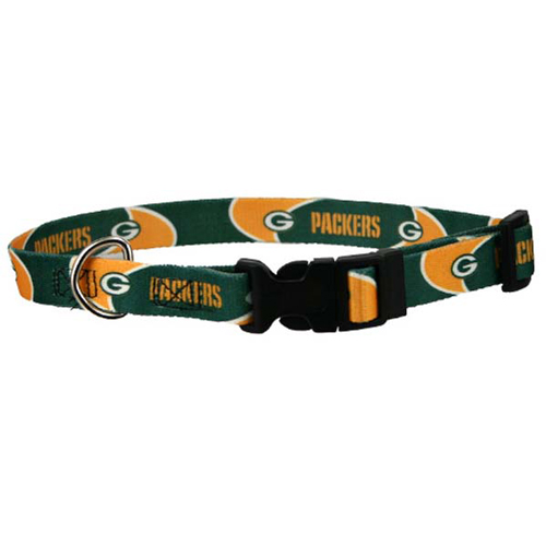 NFL Green Bay Packers Dog Collar Officially Licensed