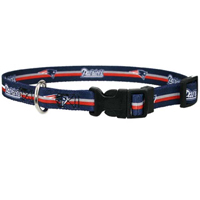 NFL New England Patriots Dog Collar Officially Licensed