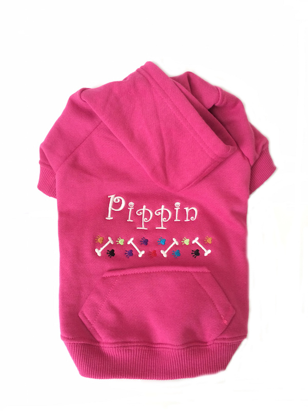 #1 Best Seller Personalized Dog Sweatshirt Hoodie Custom Embroidered -  More colors