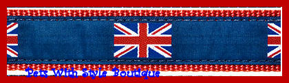 British Flag Dog Collar-British Flag Dog Collar