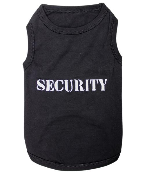 Dog Tank shirt SECURITY