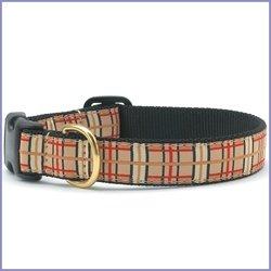 UpCountry Designer Plaid Dog Collar