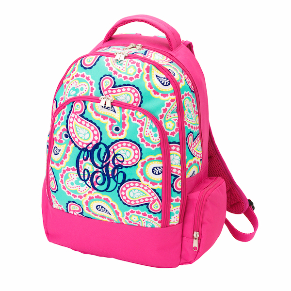 Back to School Best Seller Monogrammed Backpacks