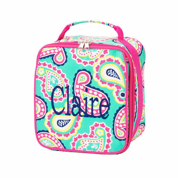 Back to School Best Seller Monogrammed Insulated Lunch Bag