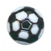 10mm Slider Charm Soccer Ball